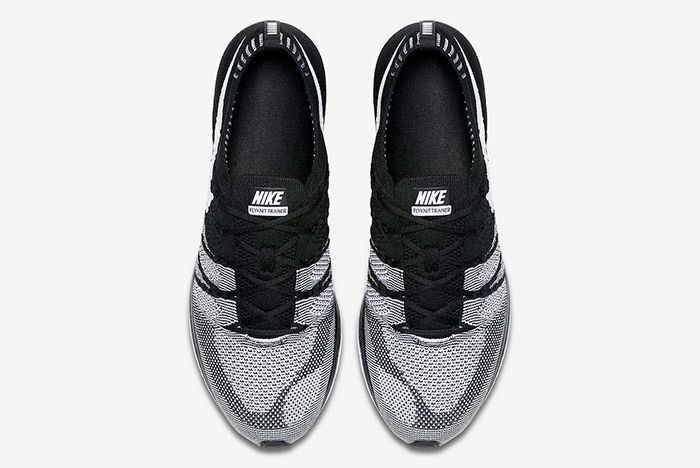 Nike Flyknit Trainer Oreo Black White 7