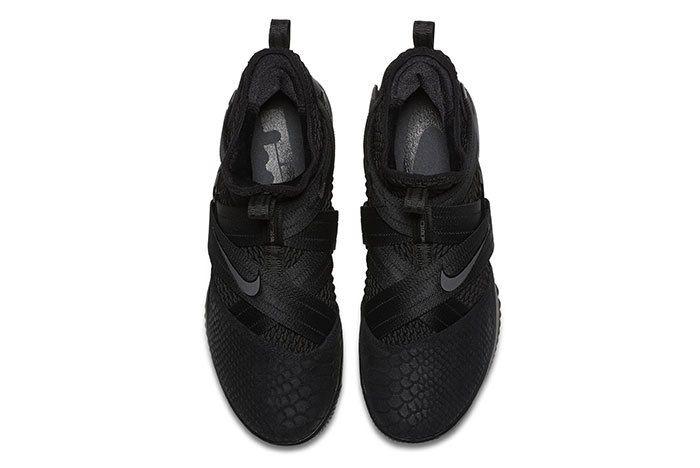 Nike Lebron Soldier 12 Sfg Triple Black 6