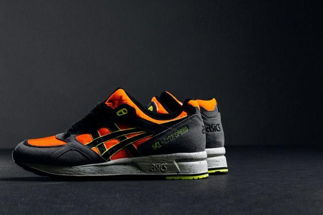 Asics Gel Lyte Speed Dark Grey Orange 2