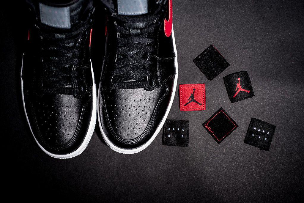 Air Jordan 1 Rare Air Blackgym Red