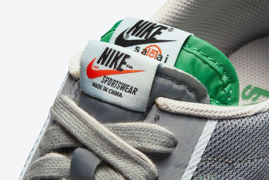 CLOT sacai Nike LDWaffle Cool Grey