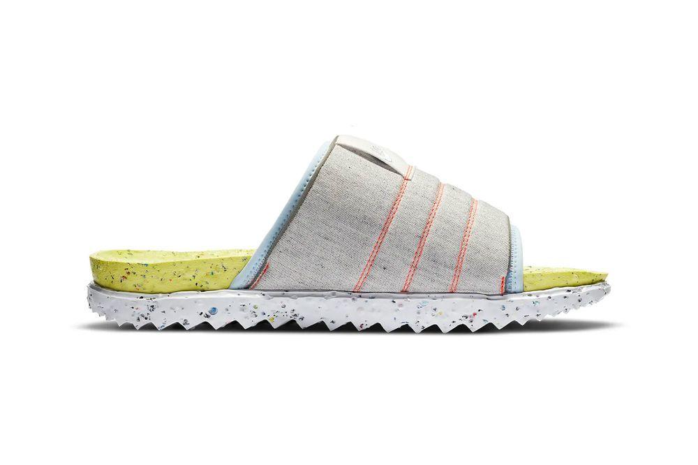Nike Asuna Slide Light Lemon Twist Right