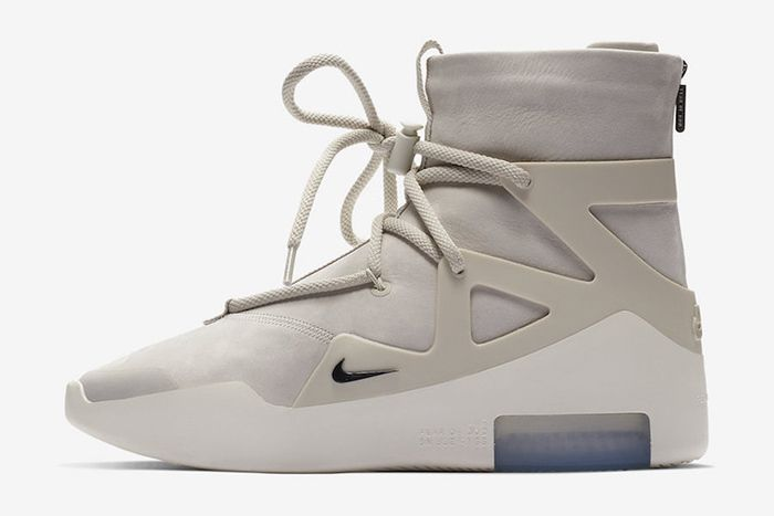 Nike Air Fear Of God 1 Black Official 7