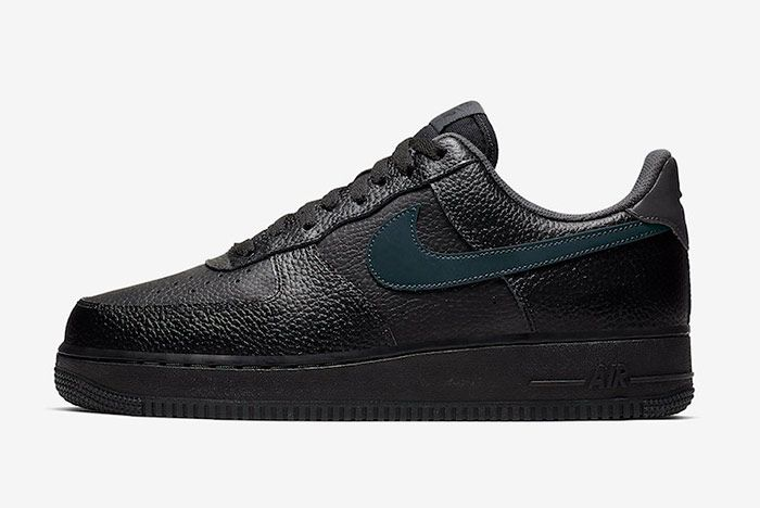 Nike Air Force 1 Low Black Anthracite Left