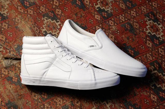 Vans Vault All White Basics Pack 5