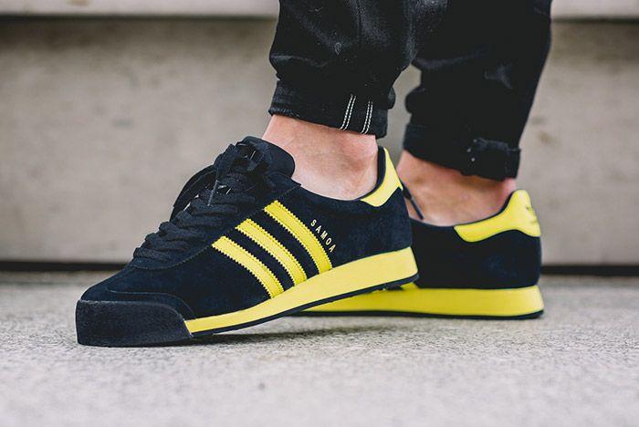 Adidas Samoa Vintage Svenska Blue Yellow 5