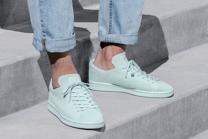 Adidas Stan Smith Primeknit Monochrome Green
