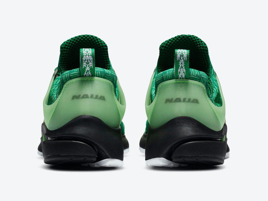 Nike Air Presto Naija Heel