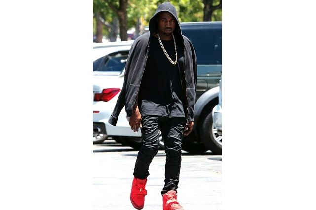 Kanye West Yeezy 2 Nike Red October 7