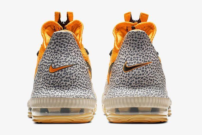 Nike Lebron 16 Safari Heel