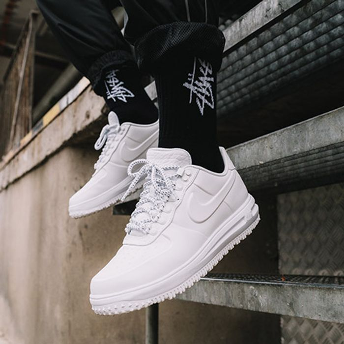 On Foot The Lunar Force 1 Duckboot Winter White Sneaker Freaker