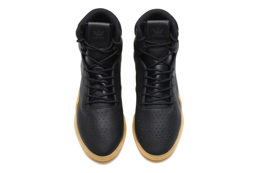 Adidas Tubular Instinct Black Leather 6