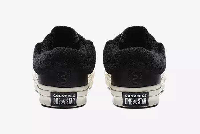 Converse One Star Fur Black 3