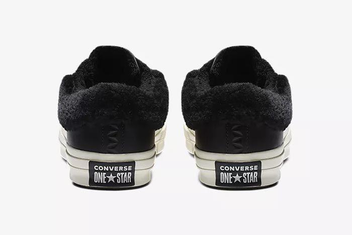 Converse One Star Fur Black 3