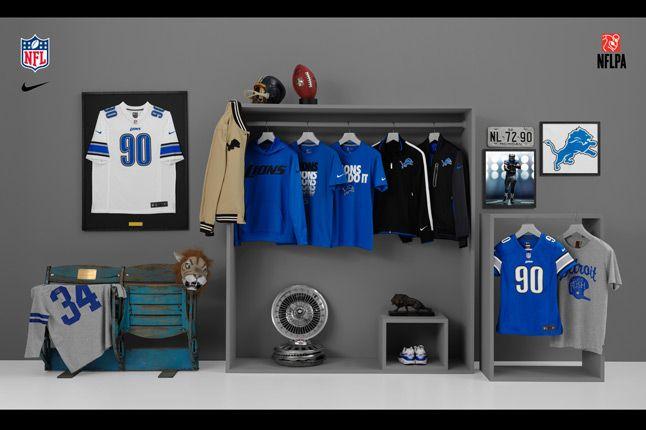 Nike Nfl Fanwear Detroit Lions 1