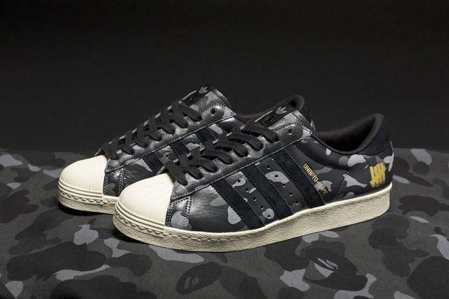 Bape X Undftd X Adidas Consortium Superstar 80 7