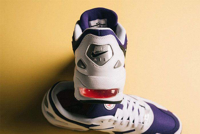 Nike Air Max 2 Light Court Purple Heel