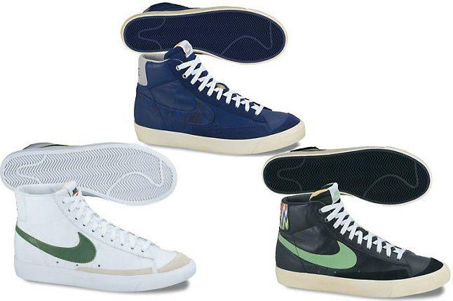 Blazer Mid 77 Premium Vintage Blue Green White 1