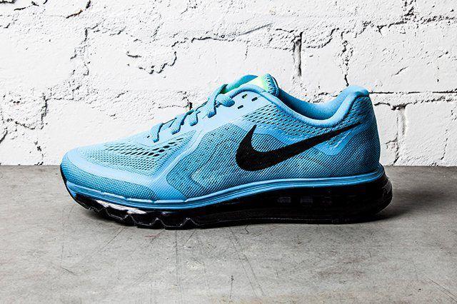 Nike Air Max 2014 Polarized Blue Black 2