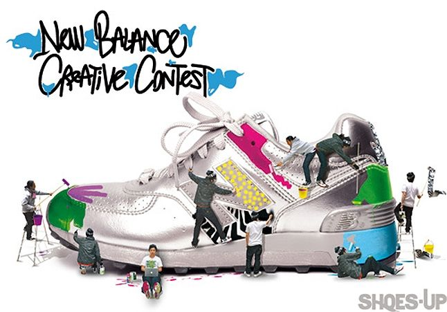 Shoes Up X New Balance Creative Contest 1