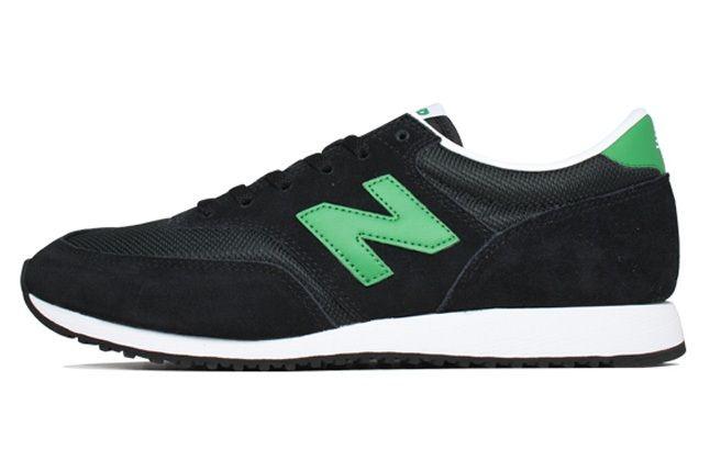 New Balance 620 Black Green Side 1