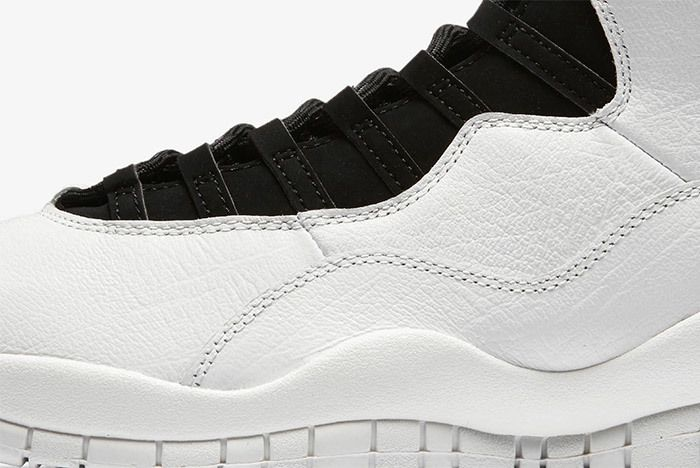 Air Jordan 10 Im Back Summit White Black 3
