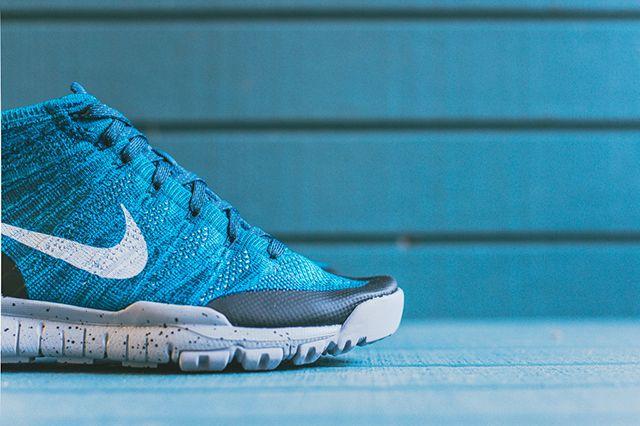 Nike Flyknit Squadron Blue 4