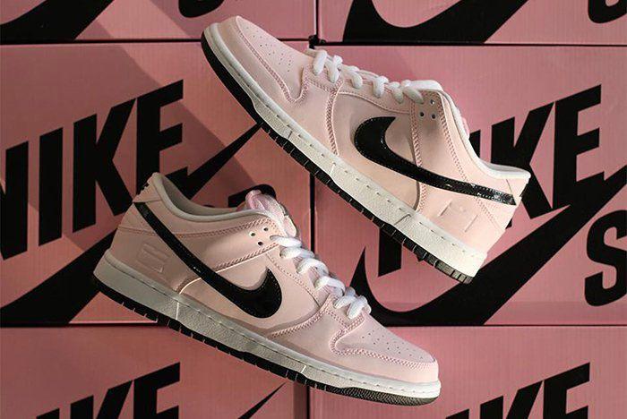 Nike Recap Sb Dunk Pink Box