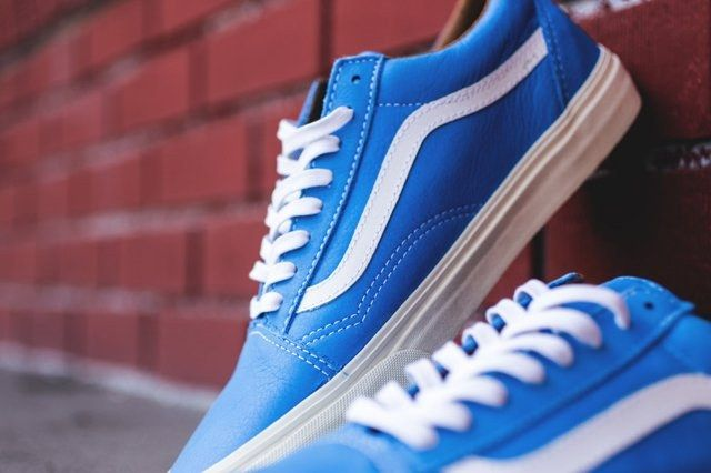 Vans Old Skool Classic Leather Pack 5