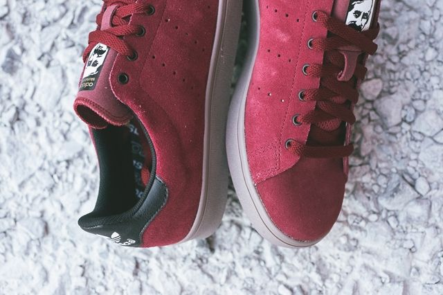 Adidas Stan Smith Vulcanised Burgundy Bumperoo 5