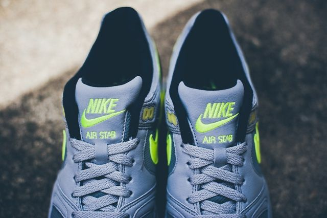 Nike Air Stab Cool Grey Volt 3