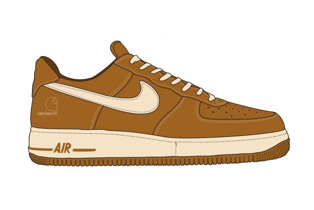 Carhartt Air Force 1 Sneaker Freaker Jpg1