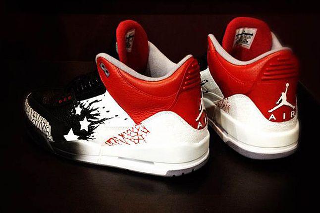 Air Jordan 3 Iii Wings For The Future Custom Mache 02 1