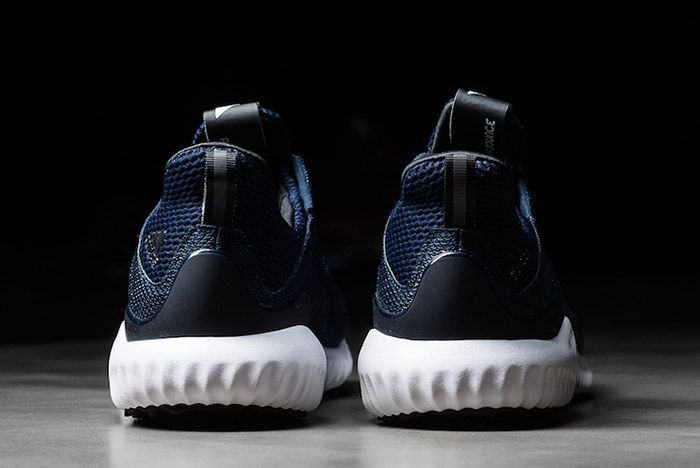 Adidas Alphabounce Navy White 2