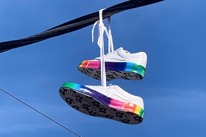 Golf Le Fleur Converse One Star Pride Month 2019 Release Date Pair