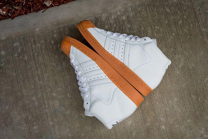 Adidas Pro Model 80 S Dlx White Gum 8