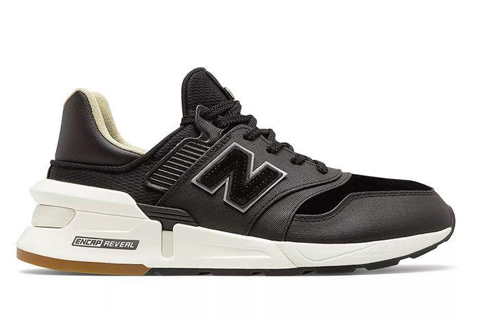 New Balance 997S Saffiano Black Lateral