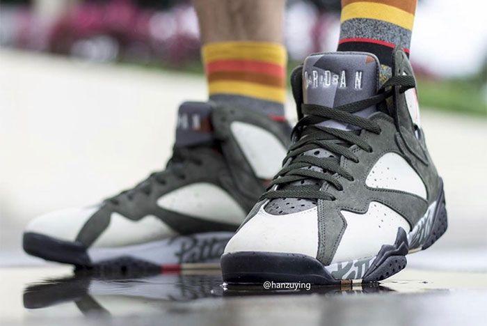 Air Jordan 7 Patta Toe