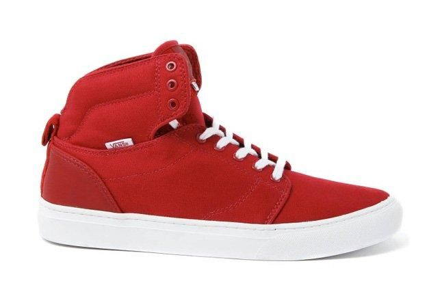 Vans Alomar Red White Tongue Profile 1