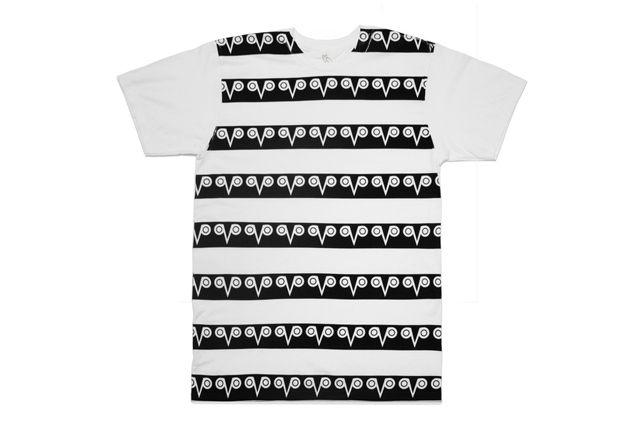 Octobers Very Own T Shirt White Balck