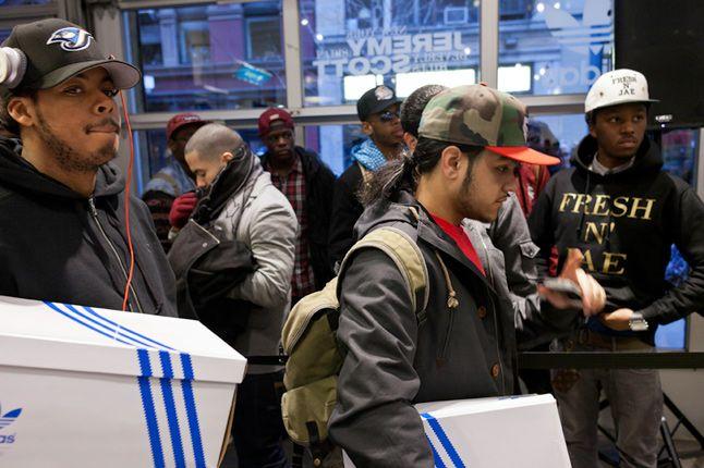 Jeremy Scott In Store Adidas Originals Soho New York 55 1