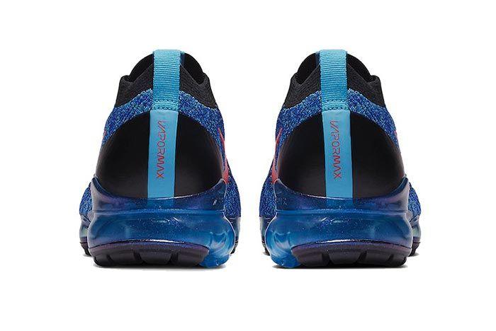 Nike Air Vapormax Flyknit 3 Blue Fury Heels