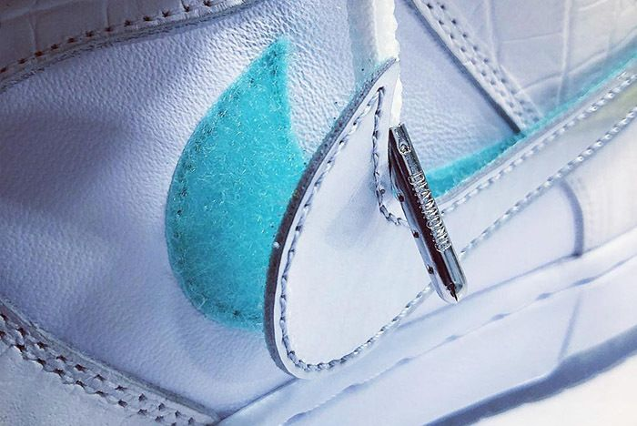 Diamond Supply Nike Sb Dunk Tiffany 2018 Teaser 1