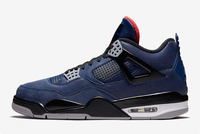 Air Jordan 4 Wntr Winter Loyal Blue Left