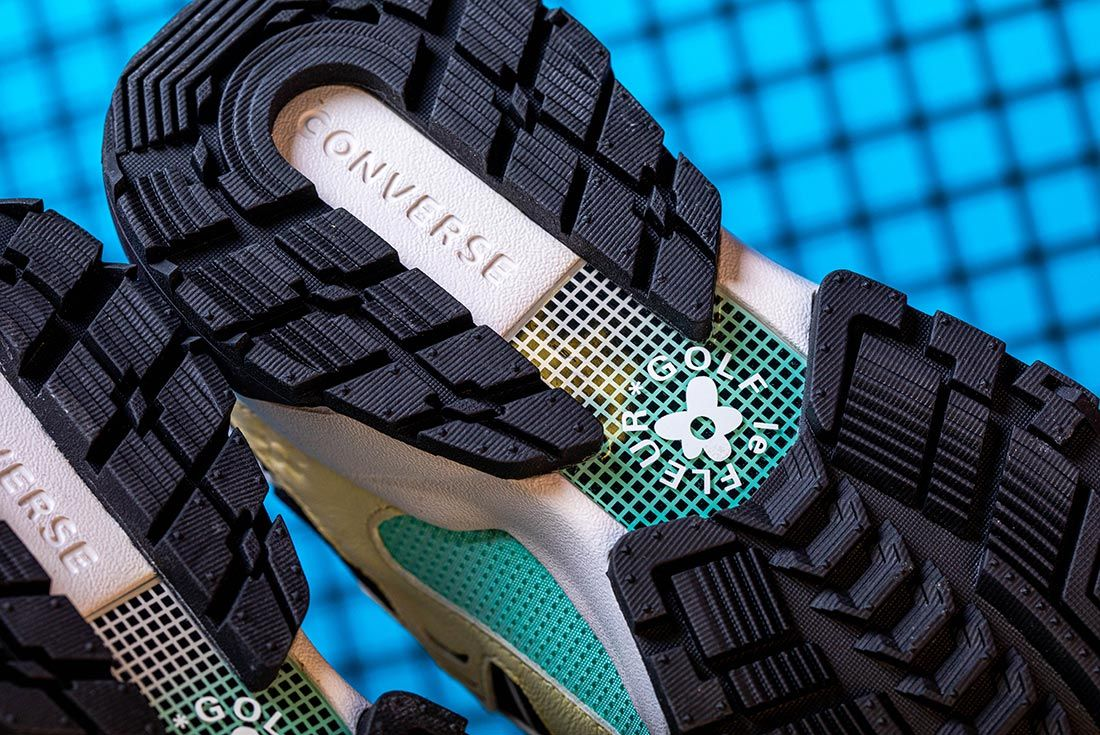 Golf Le Fleur Converse Gianno Ox Golf Brand Insole
