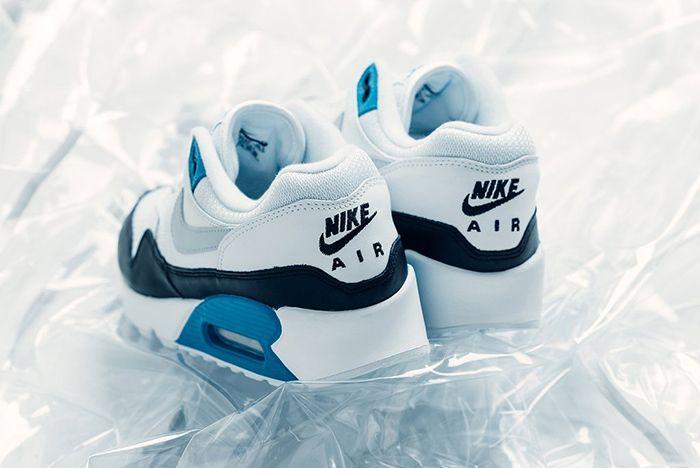 Nike Air Max 90 1 Neutral Grey White Laser Blue 4