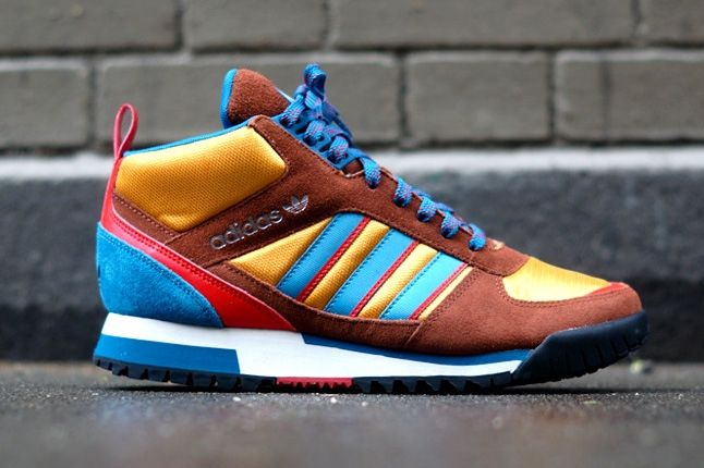 Adidas Zx Tr Mid Brown 7