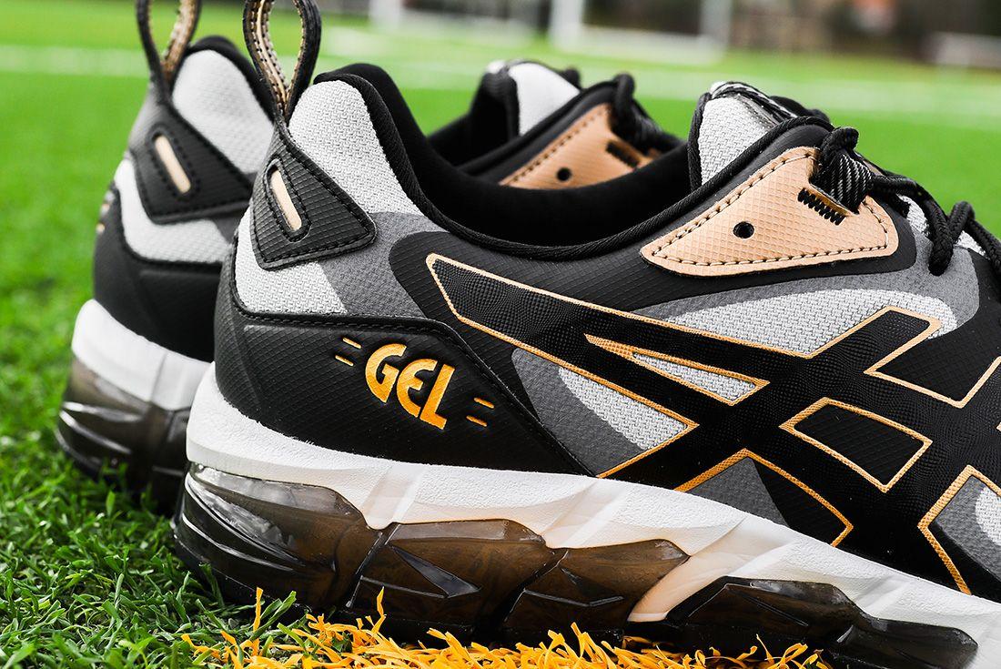 ASICS GEL-Quantum 180 6 grey black gold jd sports shot