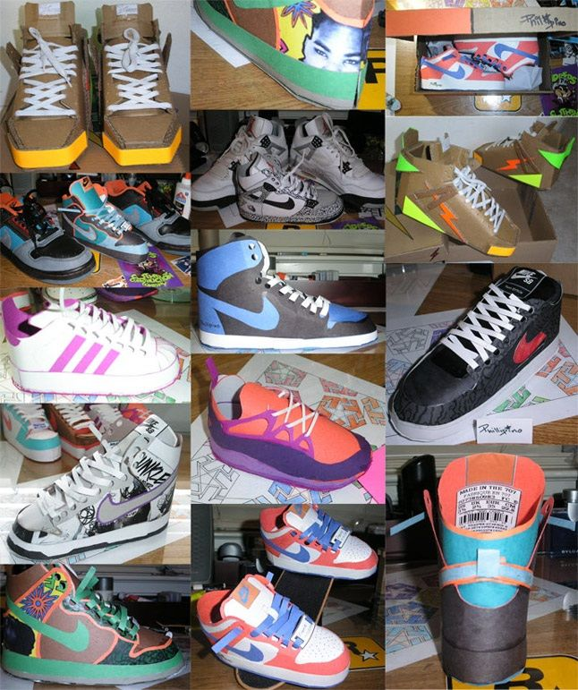 Paper Sneakers 1