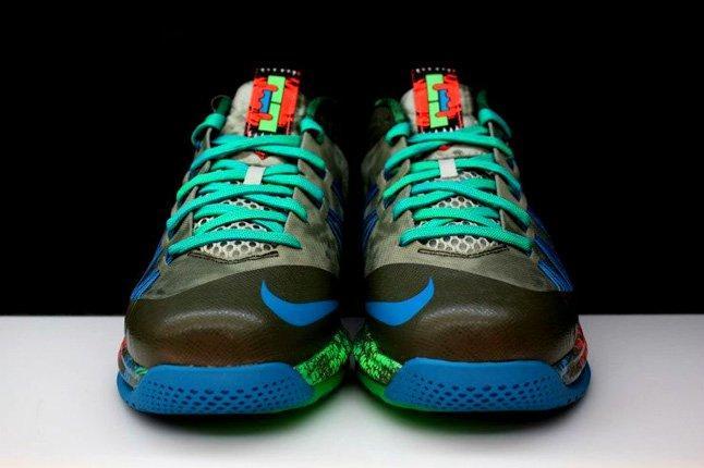 Nike Lebron X Low Tarp Green 6